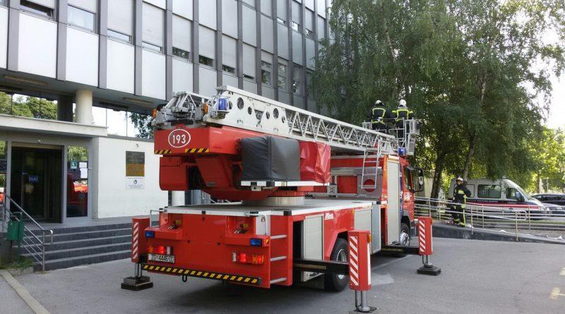 Vježba evakuacije i spašavanja KBC Sestre milosrdnice