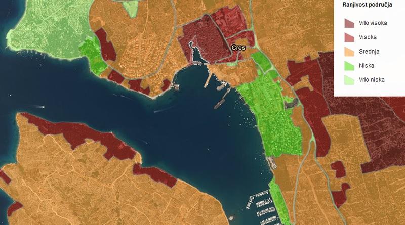 Interaktivna karta rizika i ranjivosti od požara